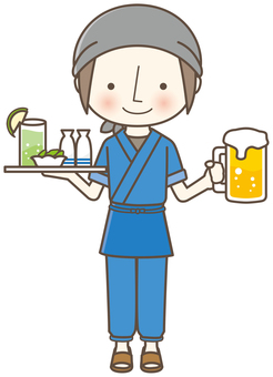 Izakayan's clerk