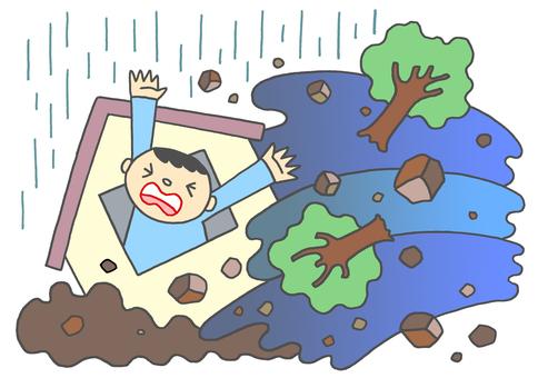 Sediment disaster