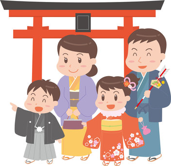 The Shinsetsu family and Torii Torii