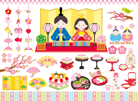 Doll Festival Set 01