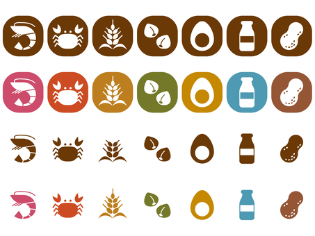 7 Great allergens pict
