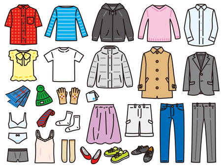 服裝夏季/冬季套裝