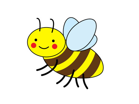 Bee (to the left)
