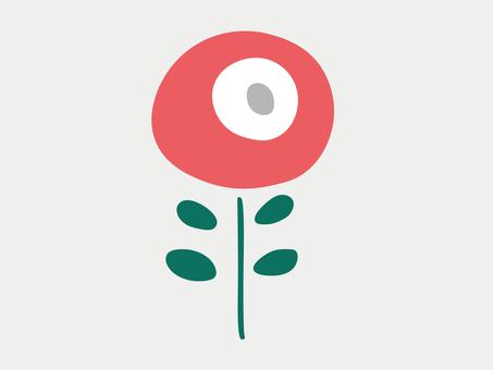 Scandinavian style flower illustration 37