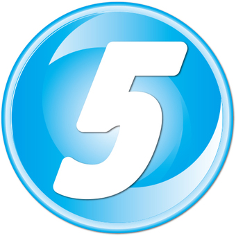 "Number button ""5"""
