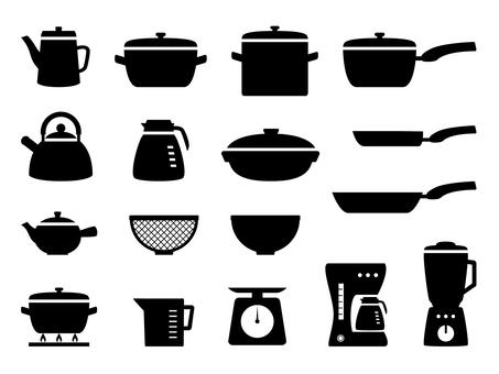 Kitchen set 2 Silhouette