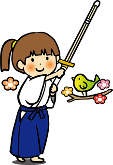 Kendo Girl _ spring _ color