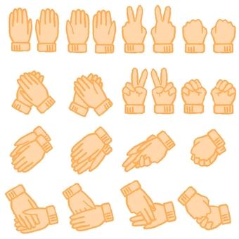 手套(橙色)