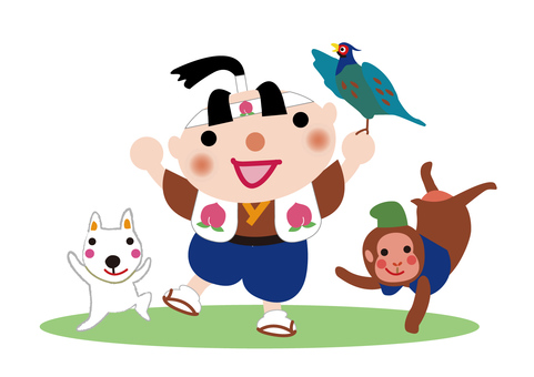 Japanese Famous Stories _ Momotaro and Friends 7