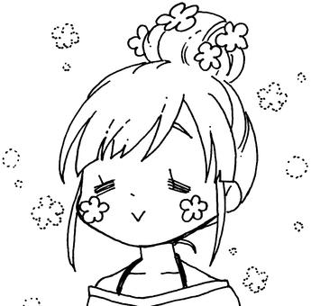Dumpling girls (cartoon style) 11