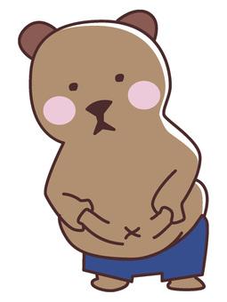 Felt tummy