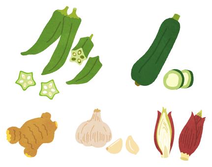 夏季蔬菜(調味品)CS2