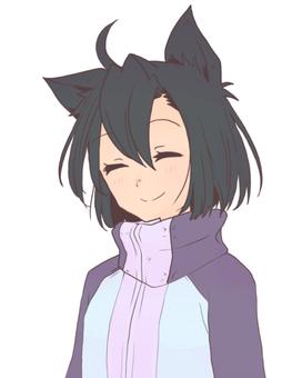 Cat Ear Girl Bust Shot (Hee)