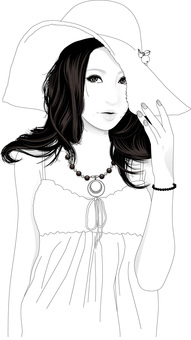 Female illustration 65