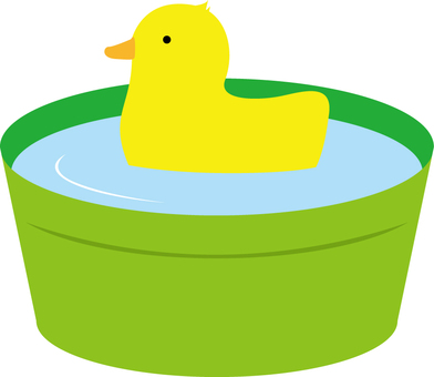 Duck and tub