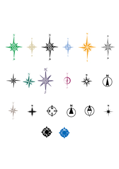 Compass orientation