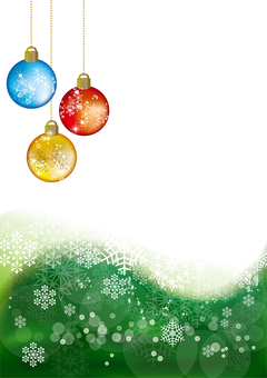 Snow Crystal Ornament Ball 23