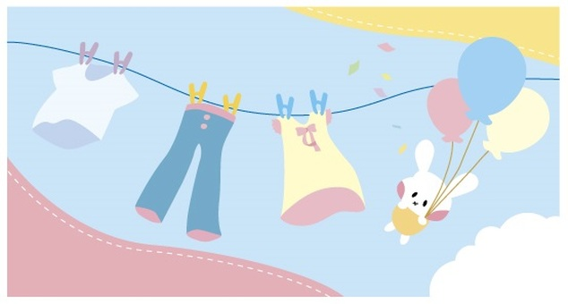 Rabbit and washing frame