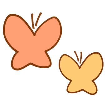 Butterfly 2 (orange)
