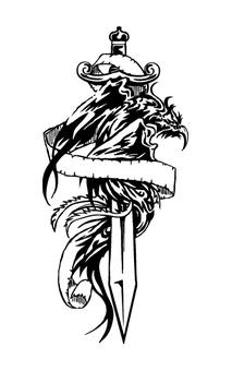 Tattoo style Phoenix