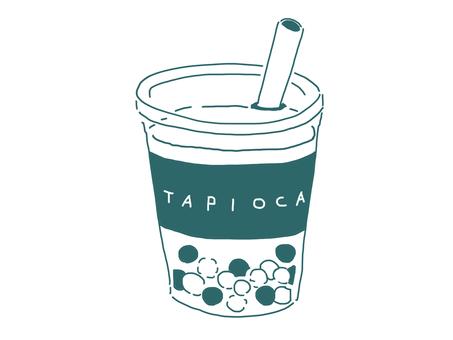 타피오카 음료