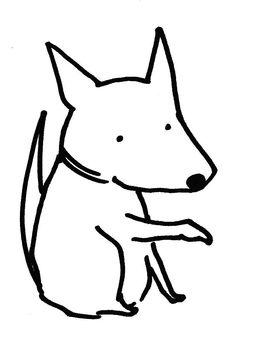 손하는 강아지