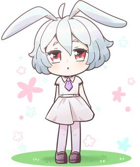 Bunny ears girl
