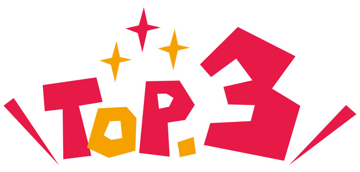 TOP.3 Top Three ☆ Logo ☆ icon