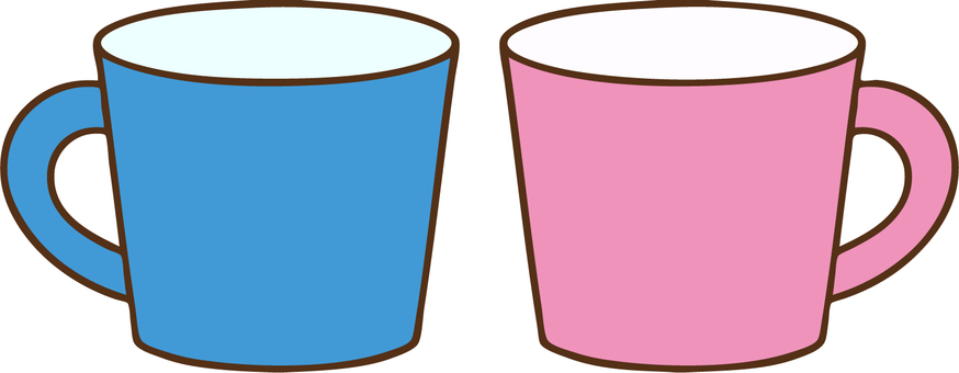 Mug cup (pair)