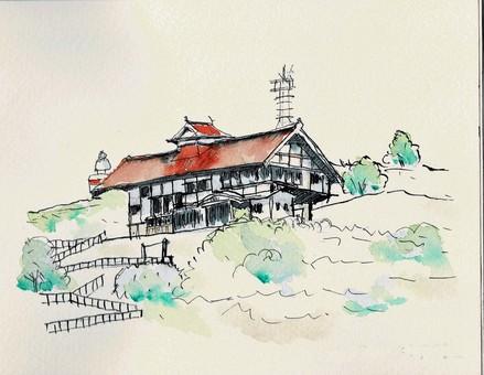 Herring palace in Otaru Shukutsu