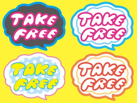 Take Free's pop speech