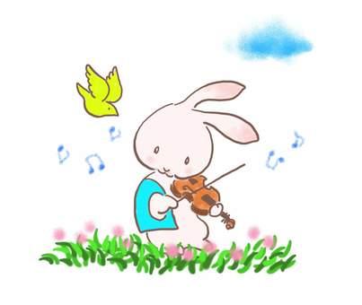 バイオリンうさぎ29