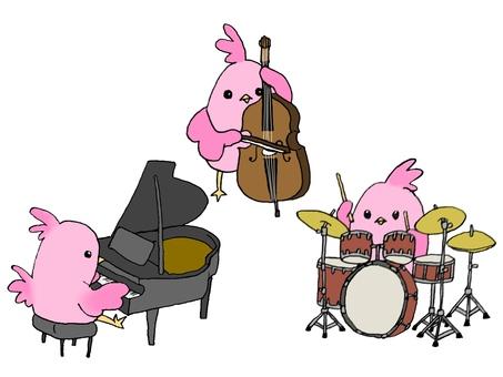 작은 새와 악기 [재즈 피아노 트리오 편]