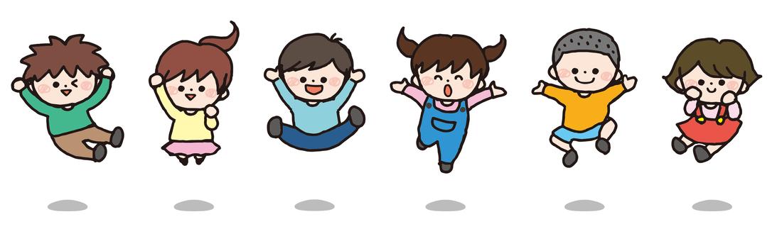 Children (jump)