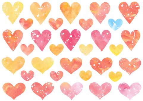Heart material 7