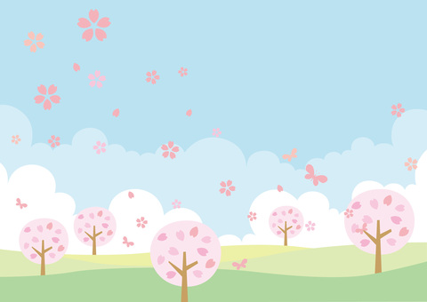 Sakura background Spring