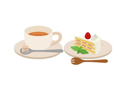 Tea and short cake