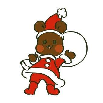 Santa Claus' bear