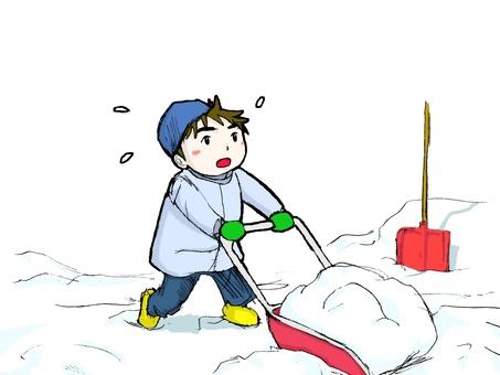 Snow shovel 03