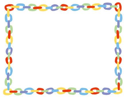 Rectangular paper chain