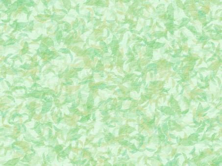 Leaf Japanese paper wallpaper