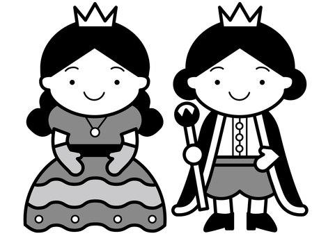 Prince and Princess 2c