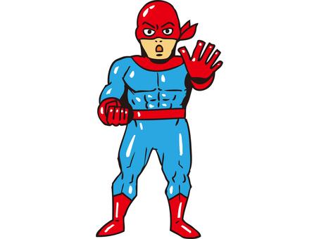 紅色面具1