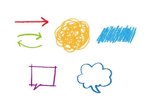 Handwritten illustration callout
