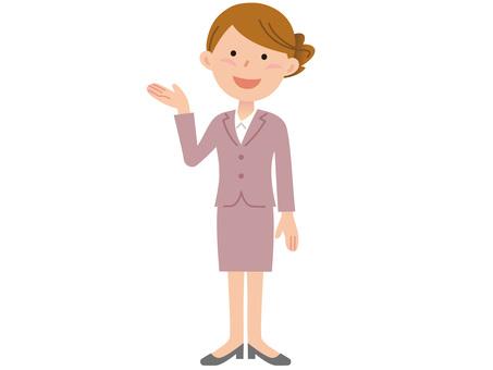 51011. Women's guide, whole body