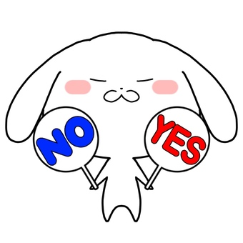 Rabbit YES NO