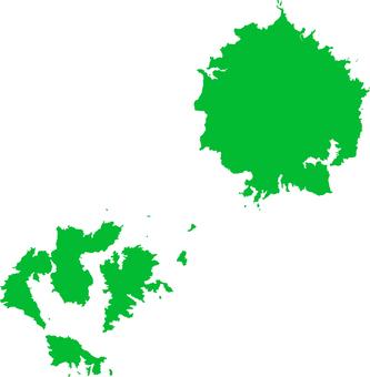 Oki Island _ Green