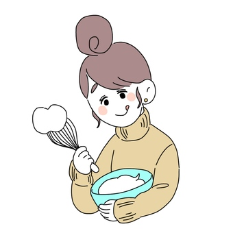 생크림 채찍 소녀