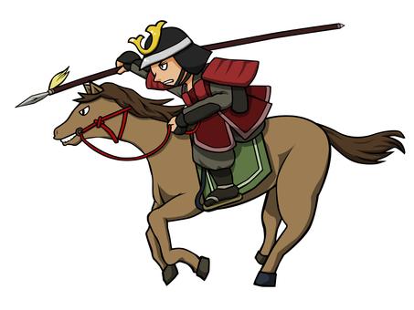 Sengoku period cavalry