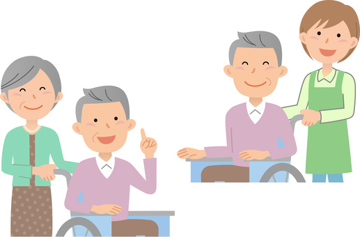 70916. Wheelchair, upper body, set